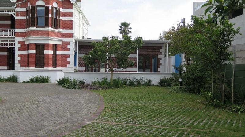 Lawn blocks parking