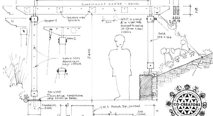 Pergola sketch