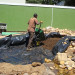 Installing the liner for the river section to enter the pool thumbnail