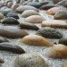 A macro view of the pebbles set in cement thumbnail