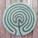 A Labyrinth sign in the garden thumbnail