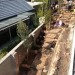 Cobbled natural stone and sleeper path during construction thumbnail