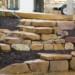 Garden stonework steps thumbnail